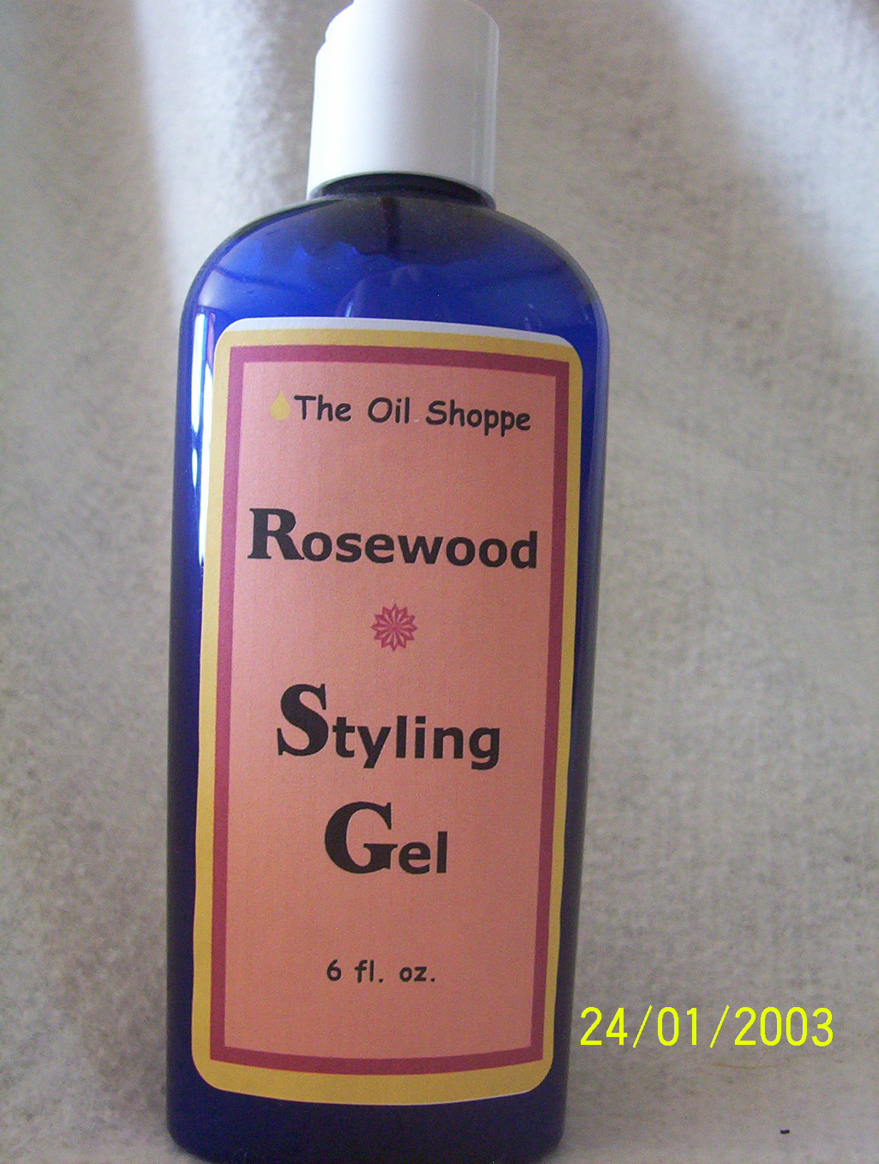 Styling Gel, Rosewood
