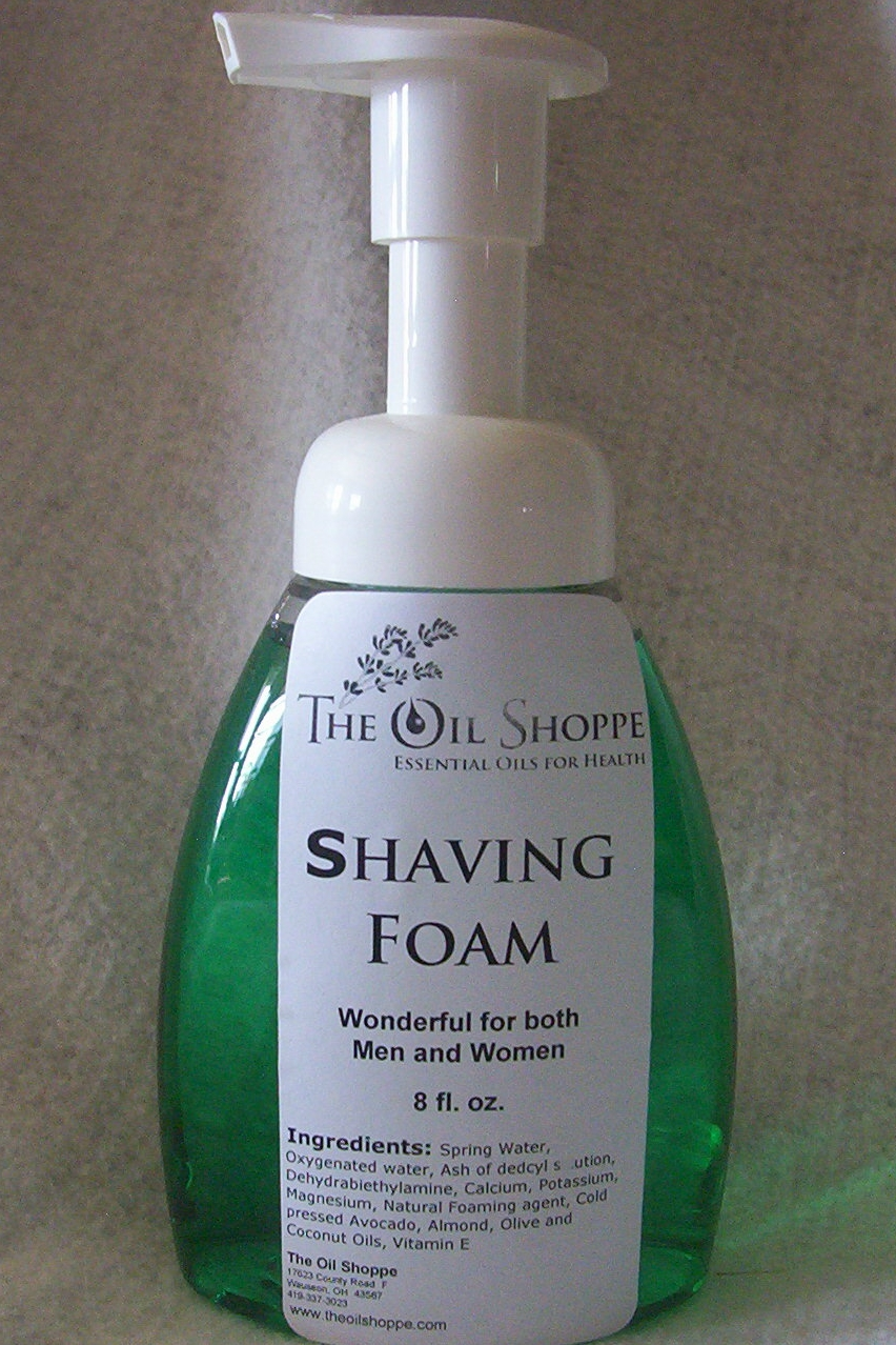 Shaving Foam, 8 oz.