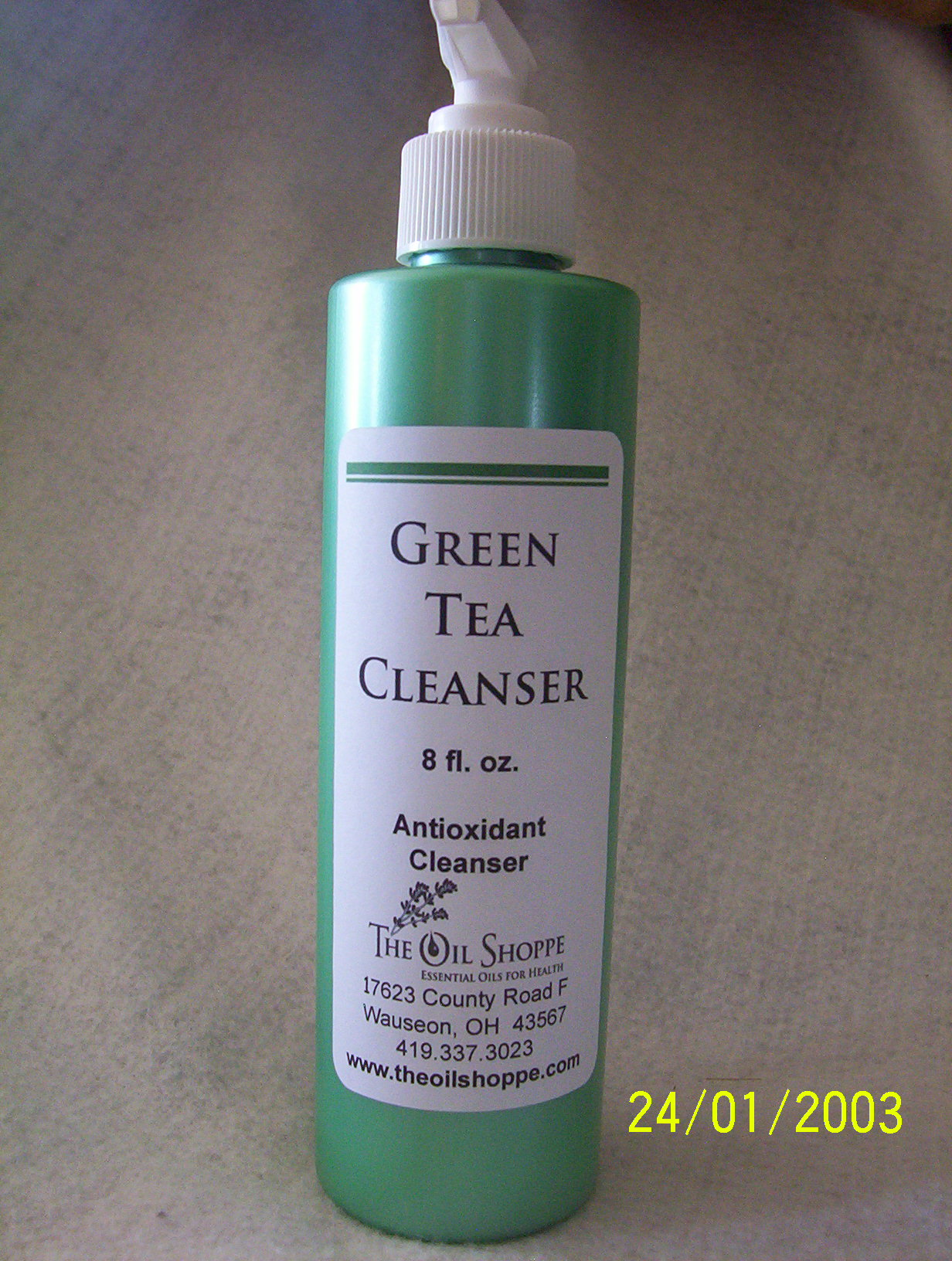 Cleanser, Green Tea Face Cleanser