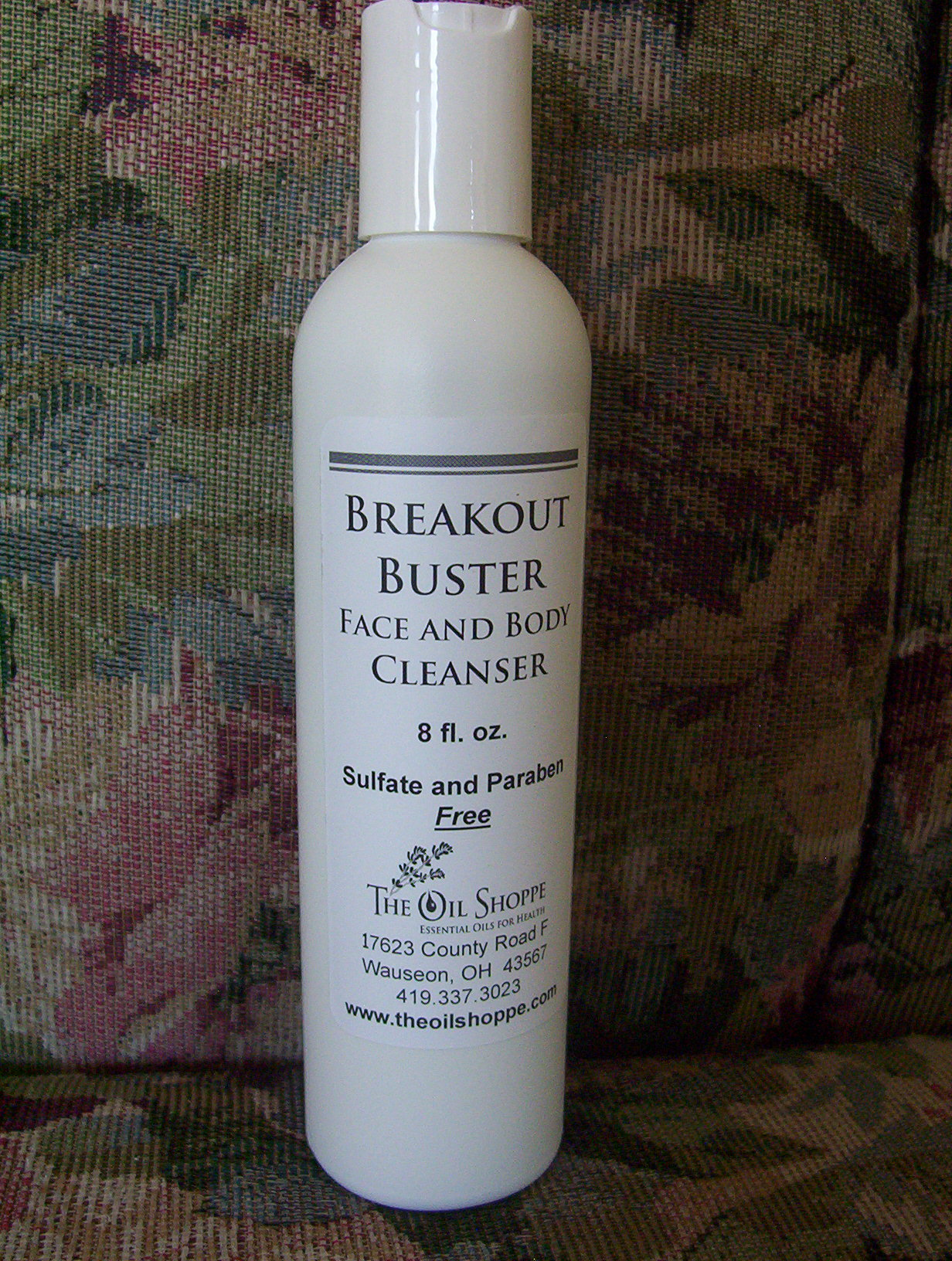 Cleanser, Breakout Buster Face and Body Cleanser