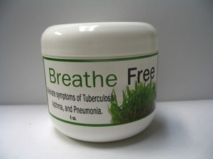 Breathe Free, 4 oz. Jar