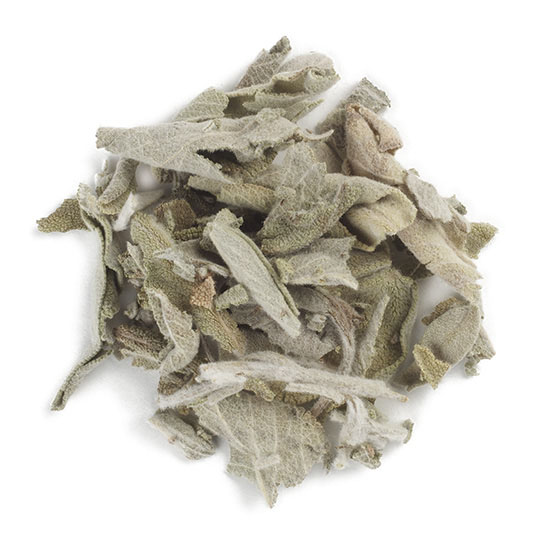 White Sage Cut and Sifted, loose herb