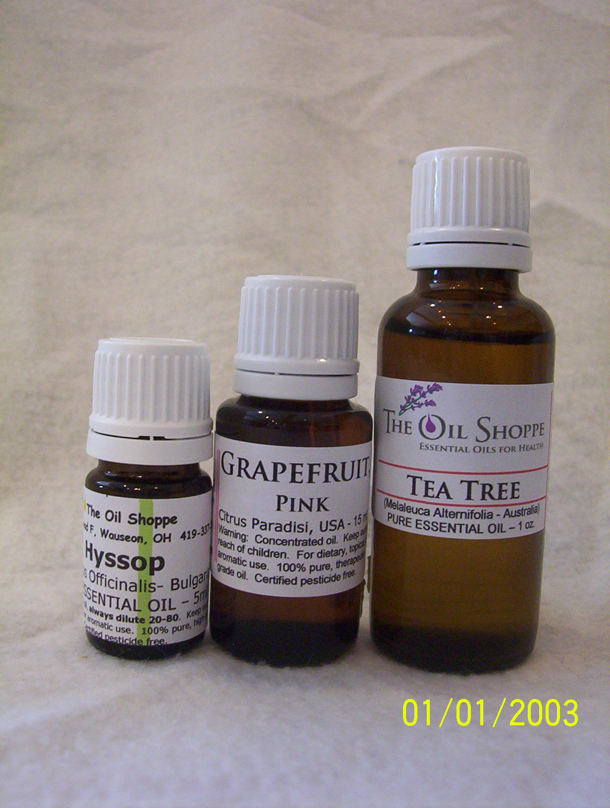 Essential Oils N - P